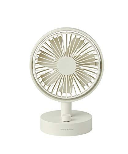 レコルト コードレス テーブル ファン RTF-1(W) ホワイト recolte Cordless Table Fan (ホワイト)
