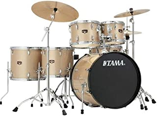 Tama Imperialstar 6-Piece Complete Drum Set with Meinl HCS Cymbals - FREE PROMO CYMBAL PACK - Champagne Mist