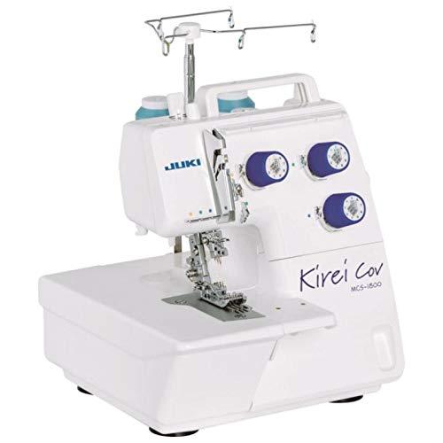 Juki MCS-1800 Kirei Coverlockmaschine, für perfekte Nähte und Säume, als Ergänzung für Overlock-Maschinen