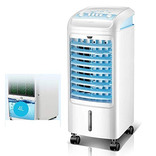 Mobile Air Conditioner Air Conditioner Home Air Conditioner Fan Mute Fan Energy Saving Evaporator, 4L Water-cooled Air Conditioner, 3 Speed, 75W