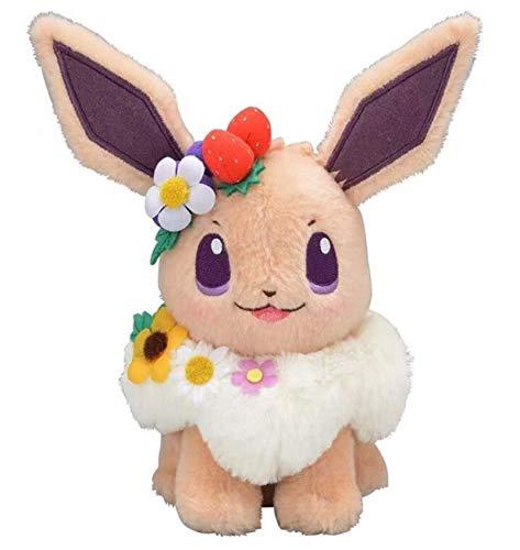 QWET Anime Pokemon Plush Toy Dolls Garland Decoration Cute Stuffed Toy 18Cm Kids Children Gift Easter Spring Festival