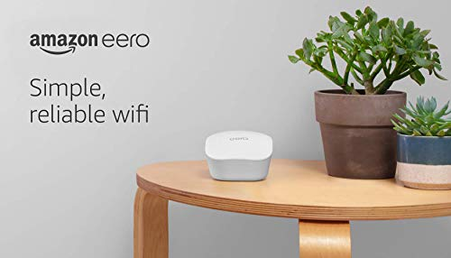 Amazon eero mesh wifi router 7 fast standalone router - the eero mesh wifi router brings up to 1,500 sq. Ft. Of fast, reliable wifi to your home. Works with alexa - with eero and an alexa device (not included) you can easily manage wifi access for devices and individuals in the home, taking focus away from screens and back to what's important. Easily expand your system - with cross-compatible hardware, you can add eero products as your needs change.