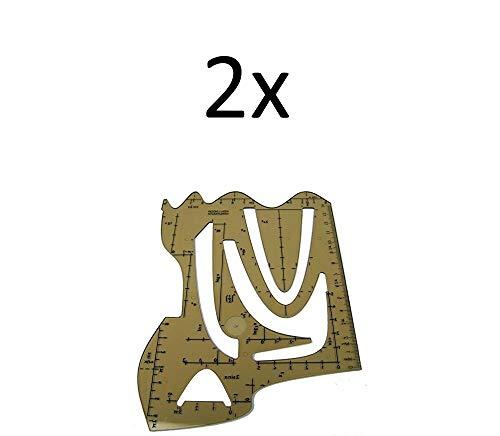 Koh-I-Noor 2X Schablone Graphische Funktion