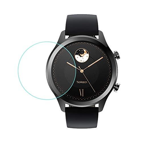 AUSKAS Screen Protector 0.26 mm 2.5D geharde glasfolie voor TIC Watch S2 Smartwatch film