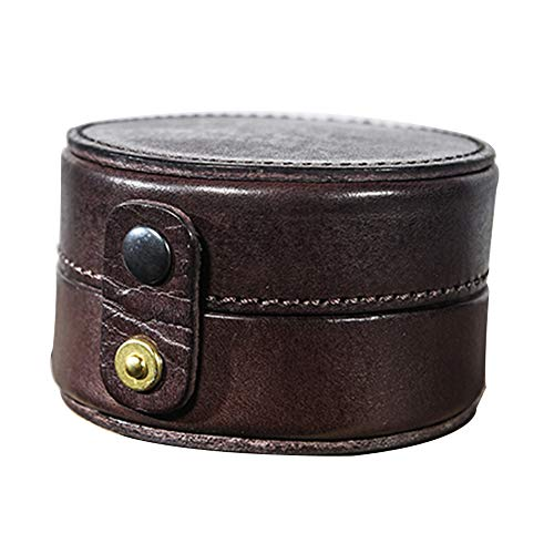 watch box Mini Bolsa de Almacenamiento Hecha a Mano de Cuero Artificial, Bolsa de Mano, Bolsa Hecha a Mano, Caja de Almacenamiento de Reloj