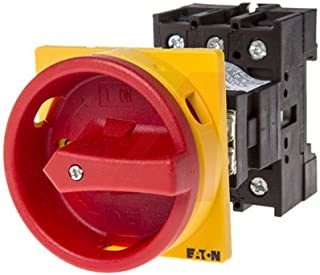Eaton/Control Automation P1-25/V/SVB 3 Pole Base Mount Non-Fused Switch Disconnector NO 25 A 13 kW IP65
