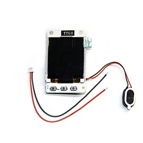 ICQUANZX ESP32-Entwicklungsboard mit farbigem 1,44'128 × 128 Pixel TFT-Display + MPU9250 IMU für Arduino ESP8266 Raspberry Pi ESP-32-Lautsprecher Bluetooth | TTGO TS v1.4
