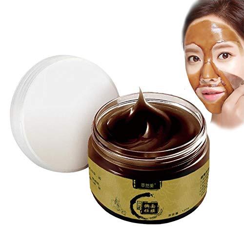 Máscara de limpieza profunda, Herbal Beauty Acne Cleansing Blackhead Crystal Mask 120g para poros Natural Detox