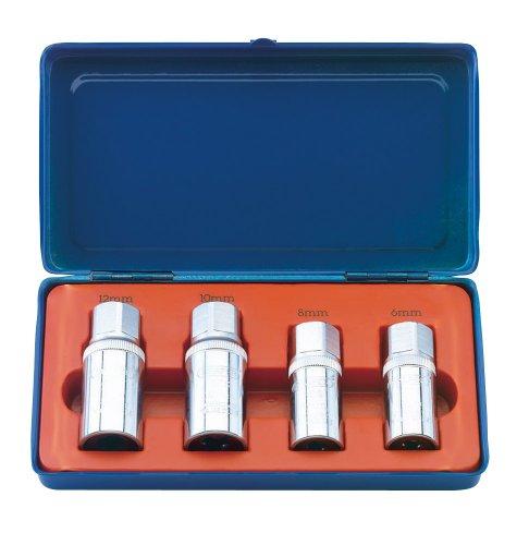 Draper 55641 - Juego de extractores de pernos (4 unidades)