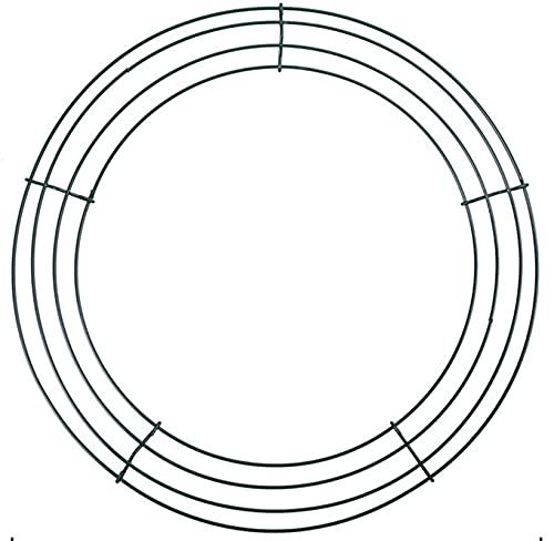 CAETNY Coroa de Metal da Porta da Frente Coroa de Metal de Natal Coroa de Metal Decoração de Casamento Coroa de Flores de Metal Moldura para Fotos feita à mão para decoração de Interiores e exterio