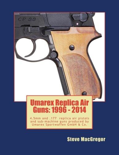 "Umarex Replica Air Guns 1996 - 2014: 4.5mm steel BB and .177"" Pellet shooting replica air pistols and sub-machine guns produced by Umarex Sportwaffen GmbH & Co."