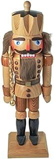 Dregano Natural Wood King Nutcracker Made in Germany