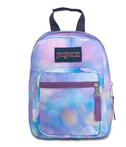 JanSport Big Break Insulated Lunch Bag - Small Soft-Sided Cooler Ideal for School, Work, or Meal Prep, City Lights