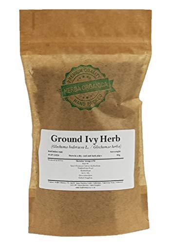 Gundermann Kraut / Glechoma Hederacea L / Ground Ivy Herb # Herba Organica # Echt-Gundelrebe, Gundelrebe, Erdefeu (50g)