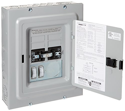 Reliance Controls TRB1005C Panel Link Transfer Panel with Meters (50A 100A)