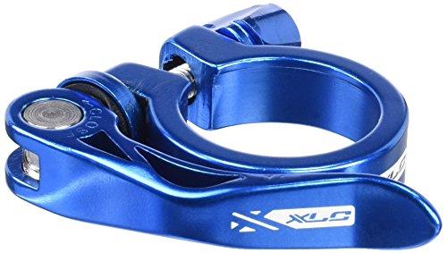 XLC Unisex– Erwachsene Sattelstützklemmring Sattelstütz-Klemmring PC-L04, Blau, One Size