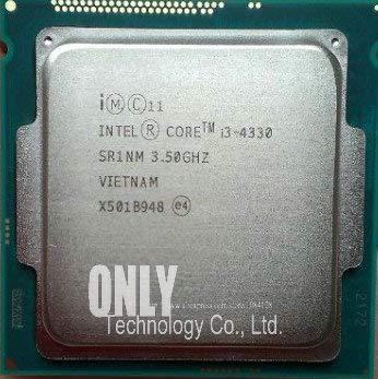 Core i3 4330 3.5GHz 4M SR1NM Dual Core Desktop Processors Computer CPU Socket LGA 1150 Pin scrattered Pieces