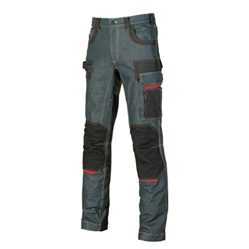 U-Power, jeans'Platinum Button Rust', taglia 48, EX069RJ/48