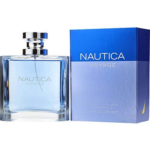 Nautica Voyage by Nautica Eau de Toilette Spray for Men, 3.4 Ounce, Multicolor