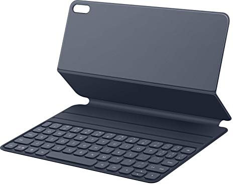 HUAWEI Smart Magnetic Keyboard (deutsche QWERTZ Tastatur) mit Schutzhülle, ultradünn, magnetische Befestigung, Plug & Play, Dark Gray (mit HUAWEI MatePad Pro kompatibel), 55032605