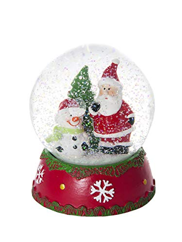 Mousehouse Gifts Christmas Snow Globe Music Box Musical...