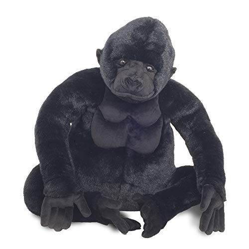 Melissa & Doug Giant Gorilla - Lifelike Stuffed Animal (Over 2 feet Tall)
