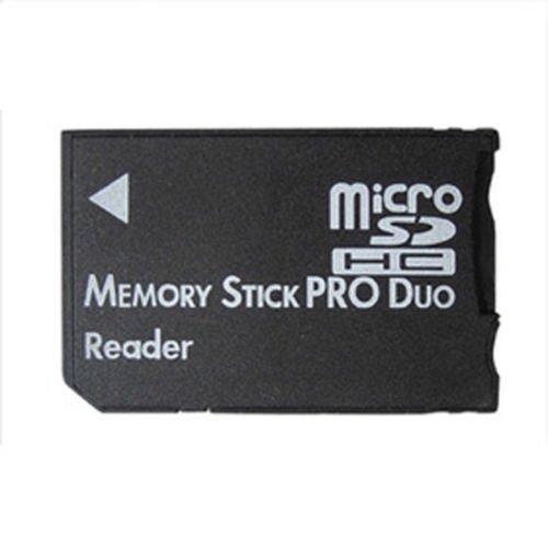 Xiton Micro SD SDHC TF Memory Stick Pro Duo MS Card Reader PSP Adaptador convertidor