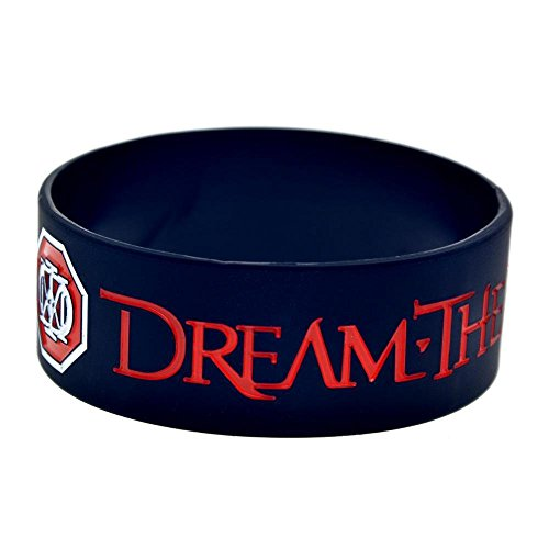North King Silicone Bracelet Dream Theater Hand Band Dream Theatre Orchestra silicone wrist band Star Hand Ring 1 inch bracelets set of 2 pieces