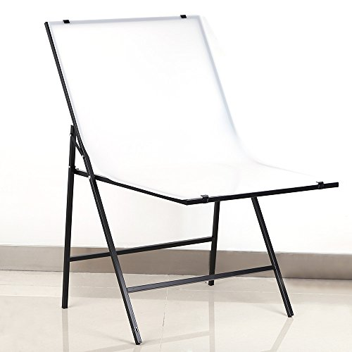 Andoer 60×100cm Shooting Table Specialty Photography Photo Studio Folding Table for Still Life Product Shooting