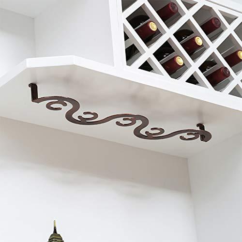 Weinglasregale Im Europäischen Stil Hängende Becherregal Küche Weinschrank Weinbecherhalter Barschrank Weiße Stielregale Home Metal Iron Decoration
