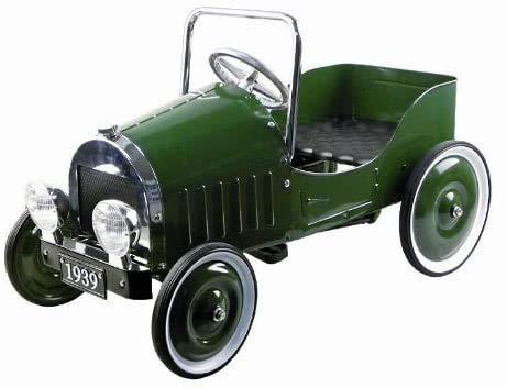 Pedal del asiento del pasajero del coche de carreras de juguete divertido kart 2 juguetes al aire libre scooter de Kart,Green