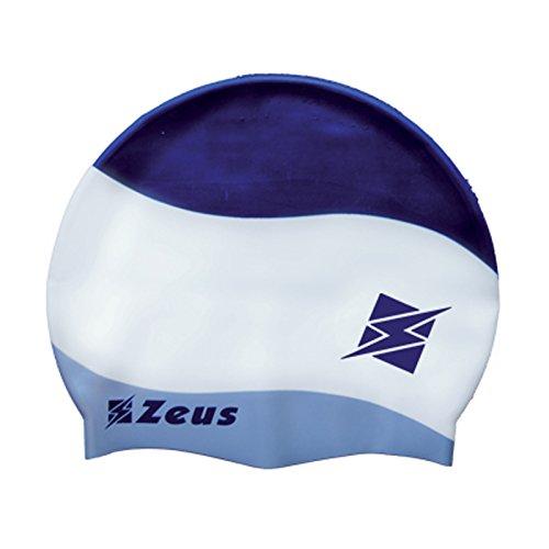 Zeus homme bonnet de bain style bonnet Femme Taille Unique nager cuffia Tricolor