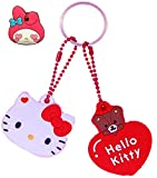 Girls Cute Key Chain for Girls Women Kawaii Cat Keychain Gifts Kitty Bag Accessories