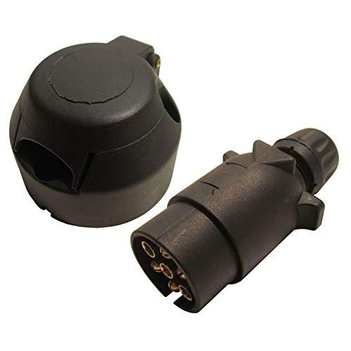 Anhängerbeleuchtung für Anhängerkupplung, 7-polig, 12 V, N-Typ, Kunststoff