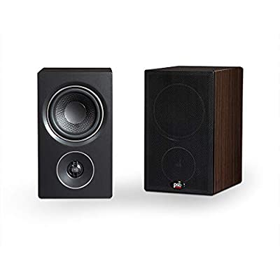 PSB Alpha P3 Compact Bookshelf Speaker - Black Ash by PSB