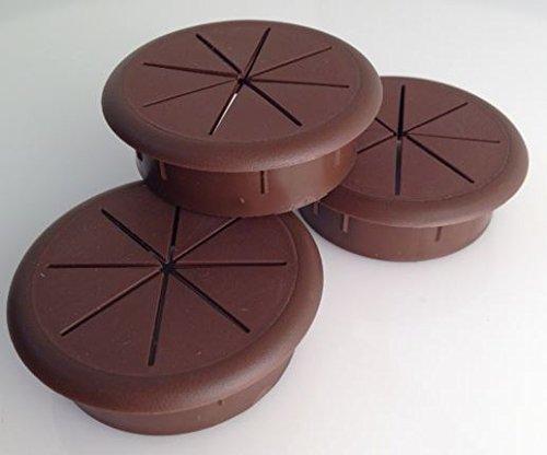 AMERIMAX HOME PRODUCTS 1902019 4-Inch Fascia Bracket, Brown, 4-Pack by Amerimax Home Products