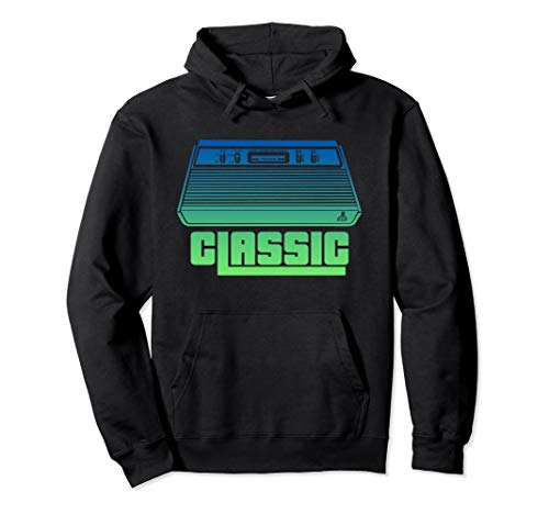 Unisex Atari Classic Console Pullover Hoodie in 5 Colors, S to 2XL
