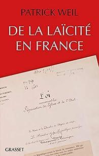 De la laïcité en France par Weil