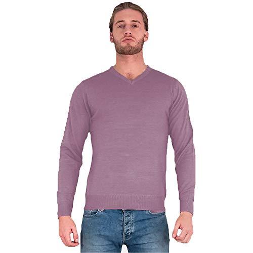 Liefde Mijn Modes Mens Jumper Trui Gebreide Trui V-hals Sweater Casual Lange Mouw Top Warm Winter Maat S M L XL XXL