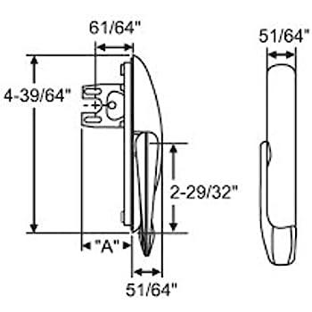 Hurd Casement Window Locking Handle 34 141 Amazon Com