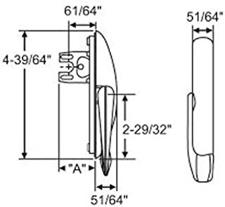 HURD Casement Window Locking Handle 34-141