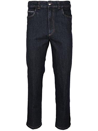 SOUNON Herren Jeans, Jeanshose, Stretch - Schwarz, Groesse: 60