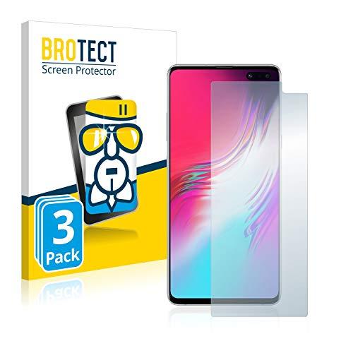 brotect Pellicola Protettiva Vetro Compatibile con Samsung Galaxy S10 5G (3 Pezzi) Schermo Protezione, Estrema Durezza 9H, Anti-Impronte, AirGlass