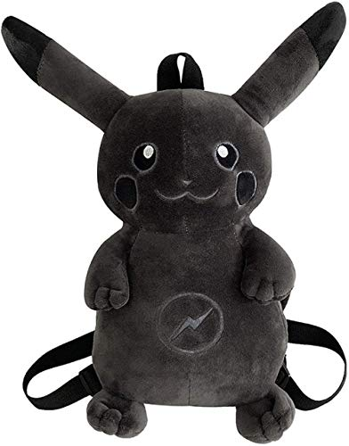 Cartoon Tasche, niedlichen Cartoon Pokemon Blitz Pikachu dunklen Plüschtier Kinder Kinderrucksack Rucksack