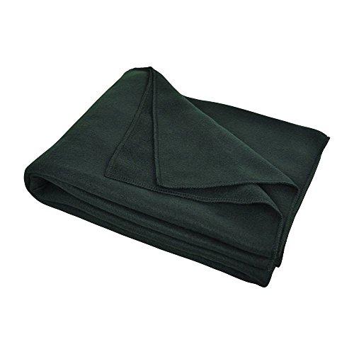Carpoint 0310011 Flausch Decke, schwarz