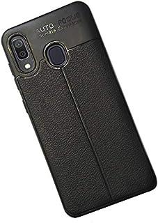 Autofocus Soft TPU Back Cover For Samsung A20 - Black