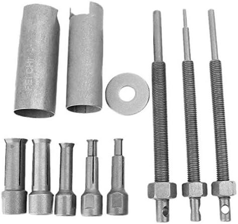 Bopfimer 1 juego de extractor de rodamientos de acero para motocicleta, coche, interior, 9 mm hasta 23 mm de diámetro.