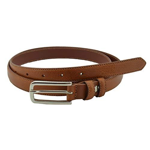 CONTE MASSIMO, Cinturón de mujer de piel genuina, recortable, 2 cm de ancho