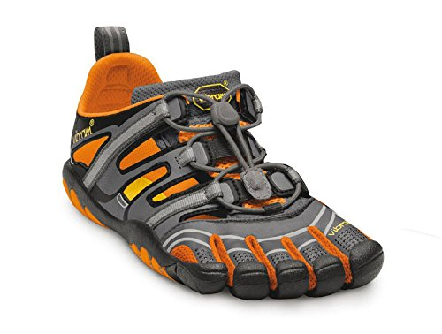 Vibram FiveFingers Treksport Sandal - Women, Size:36;Color:Grey/Orange