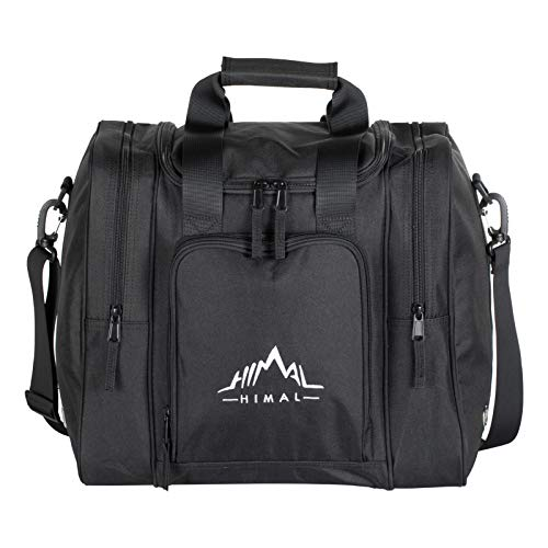 Himal Bowling Bag, Single Tote Bowling Bag with Padded Ball Holder and Shoulder Strap- Holds a Pair of Bowling Shoes